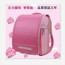 NEW Japanese Backpacks Randoseru School Bag Pink Free shipping