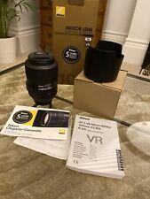 Nikon AF-S VR Micro-Nikkor 105mm f/2.8G IF-ED - UK RRP £850 Nano Crystal coat