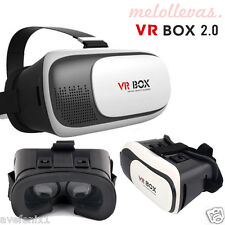 "Gafas VR BOX 2.0 3D Realidad Virtual para iPhone Huawei BQ Sony etc 3,5"" - 6,0"""