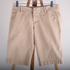 American Eagle Outfitters Khaki Casual Shorts Women's 4 100% Cotton