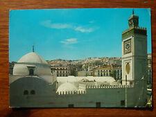 ALGER LA BLANCHE Mosquée casbah ALGIERS THE WHITE timbre stamp  postcard