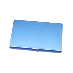 Men Aluminum Holder Metal Box Cover Credit Business Card Wallet Case for Cards