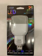 Feit Electric LED PL26E/V/841, 4 Pin GX240-3 Base, Vertical Use, Non Dimmable PL