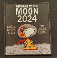NASA 2024 MOON LANDING CAMPAIGN SNOOPY PATCH - 3""