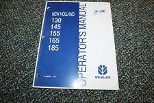 Used New Holland 130 145 155 165 185 Manure Spreader Operator Manual Free Ship