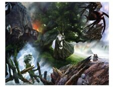 """Springbok """" Lord of the RINGS """" Puzzle - The Art of John Howe - 1000 pcs."""