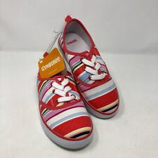 New Gymboree Girl  Eiffel Flower Striped Tennis Shoes 13