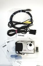 Toshiba Digital Still Camera Pdr-M1And accessories cables cards manuals