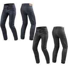 Pantalones vaqueros de algodón para motoristas