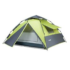 Camping Tent 3-4 person Rain/ Waterproof Automatic Pop Up Outdoor Durable Tents