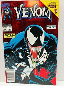 Venom Lethal Protector #1   Newsstand   1st Solo Series   Bagley   Marvel 1993