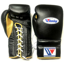 Winning Boxing gloves Lace up 14oz Black x Gold from JAPAN FedEx tracking NEW-J2