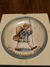 "Schmid Christmas 1982 Collector Plate ""Angelic Procession "" Berta Hummel"