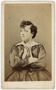 ADAH ISAACS MENKEN ACTRESS PAINTER WRITER CDV PHOTO SOLD BY SCOTLAND BOOK MAKER