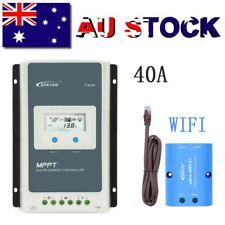 EPEVER 40A MPPT Solar Charge Controller 12/24V Auto PV 100V Li-Battery+Ebox-WIFI