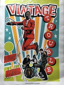 Vintage Trouble Signed Poster