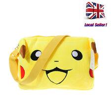 Boys Girls Messenger Bag Shoulder Pokemon Pikachu School Bag Lovely Xmas Gifts