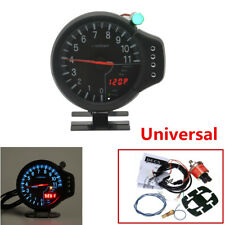 "5"" Stepper Motor 3 IN 1 Car Tachometer Water Temp Gauge Oil Pressure Gauge Meter"