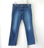 LUCKY BRAND jeans sweet straight stretch denim cotton blue ankle mid rise 8 29