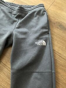 Boys Grey The North Face Joggers Large Boys