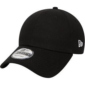 New Era 9FORTY Flag Sports Adjustable Tonal Baseball Cap Hat - Black