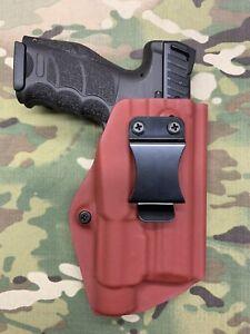 Blood Red Kydex IWB Holster for HK H&K VP9 Streamlight TLR-1 / TLR-1 HL