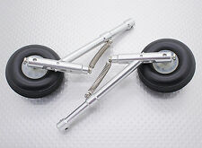 STRUTS Aluminum Chassis Set with Wheels 50mm, 4mm Pin Up, 104mm Long
