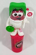 M&M Candy Dispenser Astronaut M&M Minis Red Cup Holder