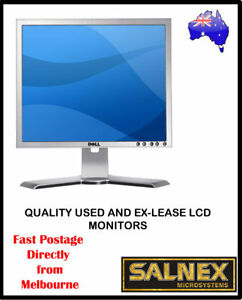 """Dell UltraSharp 1907FPT 19"""" LCD Monitor High Resolution 1280 x 1024 Silver"""