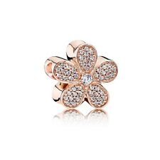 Authentic Pandora 781480CZ Dazzling Daisy Charm Bead Rose Collection