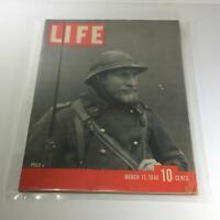Vintage Life Magazine: March 11 1940 - Poilu