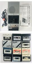 Vintage General Electric Ge Cassette Player Tape Recorder 3-5151B 70's Cassettes