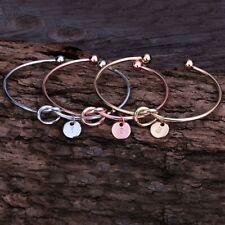 Bridesmaid Proposal, Personalized Bridesmaid Gift, Bridesmaid Initial Bracelet