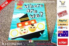 Where Are We ? Activity Book Quizzes and Activity Book Exercise Education Eng