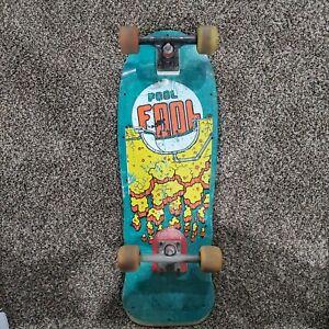 Vintage Variflex Skateboard Deck Pool Fool 80s Rare XP Series Wall Art, VTG