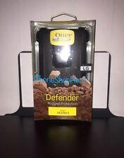 Otterbox Defender Series Case Lg G Flex  2 With Belt Clip Black !Authentic!