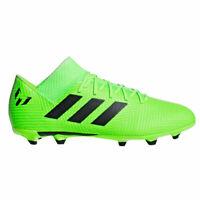 adidas Messi 18.3 Kids FG Soccer Cleats DB2367 Solar Green/Black Sz 5.5 US
