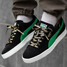 NIB PUMA Suede Classic x XLARGE BLACK GREEN MENS LACE UP SNEAKERS *SOLD OUT*