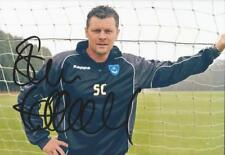 PORTSMOUTH: STEVE COTTERILL SIGNED 6x4 PORTRAIT PHOTO+COA