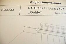Service Manual-Anleitung für Schaub-Lorenz Goldy, 3133