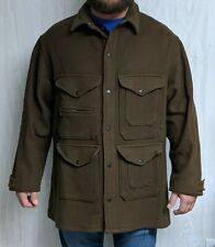 New listing Rare Polo Ralph Lauren Hunting Jacket Coat Vintage Brown Wool Usa Men's Size Xl