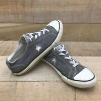 Converse One Star Boys Athletic Shoes Gray Low Top Lace Up Sneakers 603653FT 5
