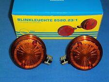 2x Blinker HINTEN passend bei Simson S50 S51 und MZ ETZ TS , Prüfnummer E50