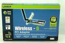 Cisco Linksys Wireless G PCI Adapter WMP54G