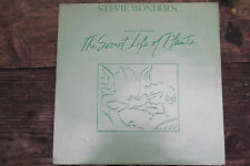 STEVIE WONDER SECRET LIFE OF PLANTS ORIGINAL LP VINYL ALBUM A1 B1 EX UK PRESS