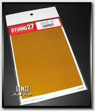 Studio27 #FP0006 Carbon Decal B (dark yellow) M