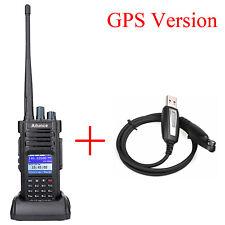 Ailunce HD1 GPS DMR Funkgeräte Dual Band 2m/70cm 3200mAh Amateurfunk + USB Cable