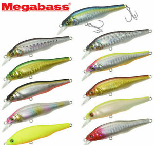 Megabass X-80 SW 8cm 10,5g Fishing Lures (Choice Of Colors)