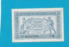 Trésorerie aux armées - Billet 50 centimes - 1917 - Lettre G