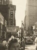 Downtown Dallas Tx Texas 1940 Era Sanford Prentice Crowder Jewelry Watch Cars